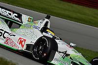 Sebastien Bourdais, Mid Ohio Sports Car Club, Lexington, OH USA 8/3/2014