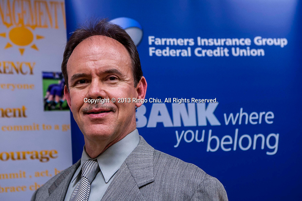Mark Herter, CEO of Famers Insurance Group Federal Credit Union. (Photo by Ringo Chiu/PHOTOFORMULA.com).