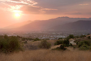 San Gabriel Mountains Sunset, Glendora, California