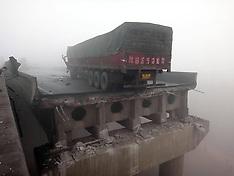 FEB 01 2013 Bridge Collapse in China