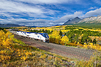 glacier national park, empire builder amtrak train,