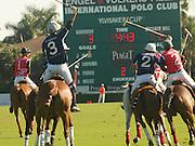 Polo Match at the International Polo Club in Wellington, Palm Beach County, Florida
