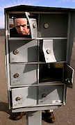 Postal inspector, Bob Sticht, says that theft from postal boxes has risen dramatically in Tucson, Arizona, USA.