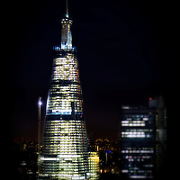 The Shard, designed by Renzo Piano at London Bridge, London.