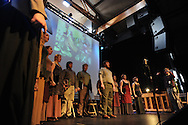 "Ole Miss students perform Price Walden's ""Leaves of Green"" opera at the Southern Foodways Alliance's 2011 ""Cultivated South"" Symposium at the Lyric in Oxford, Miss. on Sunday, October 30, 2011."