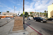 The intersection of West Adams.