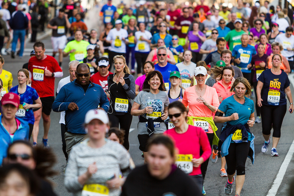 Boston Marathon: BAA 5K road race
