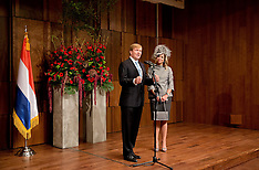 NOV 04 2014 Queen Maxima and King Willem-Alexander visit to South Korea
