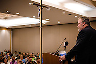 The Rev. Dr. Matthew Harrison, president of The Lutheran Church–Missouri Synod, speaks during the 2017 LCMS Life Conference on Saturday, Jan. 28, 2017, in Arlington, Va. LCMS Communications/Erik M. Lunsford