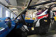 Racing driver and solicitor, Sarah Franklin.<br />
