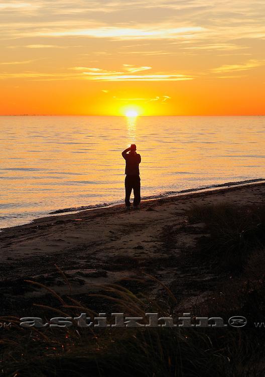 Reflection of sun