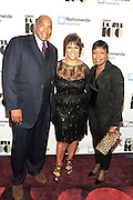 """November 2, 2012- New York, NY: (L-R) Earl """"Butch"""" Graves, Jr, President & CEO, Black Enterprise Magazine, Linda Johnson Rice, Chair, Johnson Publishing Company and Gale King, EVP, Nationwide  at the Ebony Power 100 Gala Presented by Nationwide held at Jazz at Lincoln Center on November 2, 2012 in New York City. The EBONY Power 100 Gala Presented by Nationwide salutes the country's most influential African Americans. (Terrence Jennings)"""
