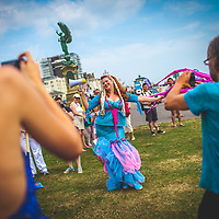 March of the Mermaids will bring a celebration of the sea, mermaids and sea creatures of all kinds to our shores in Brighton, 26 Jul. 2014 (Photo/Ivan Gonzalez)
