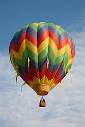 """Hot Air Balloon 1"" - This hot air balloon was photographed during the 2011 Great Reno Balloon Race."