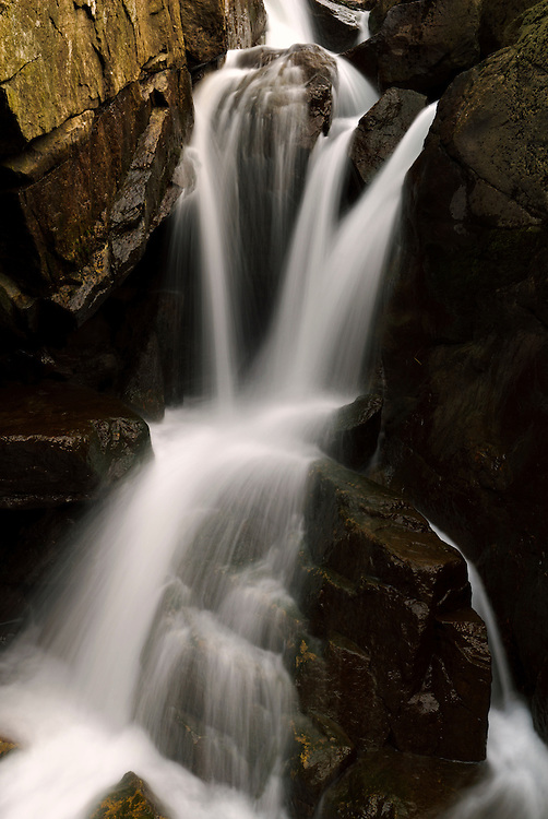 Small waterfall at Jøssingfjord, Rogaland, Norway.