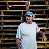10/28/14 5:53:14 PM -- Cortez, FL, U.S.A  -- John Yates, a former commercial fisherman who was convicted under a major federal document-shredding statute for throwing undersized grouper overboard.  --    Photo by Chip J Litherland, Freelance