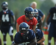 Quaterback Jeremiah Masoli as the University of Mississippi began football practice on Sunday, August 8, 2010.