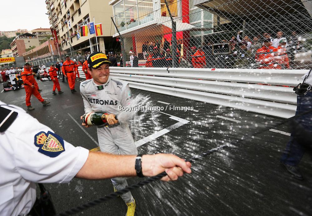 Nico Rosberg at  Monaco Grand Prix, Sunday, 27th May 2012.   Photo by: Imago / i-Images