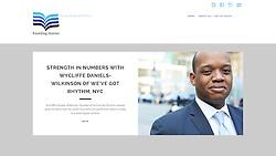 Foundingstories.org Wycliffe Daniels-Wilkinson