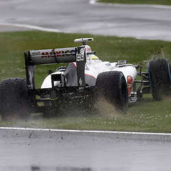 Motorsports: FIA Formula One World Championship 2012, Grand Prix of Great Britain, .#15 Sergio Perez (MEX, Sauber F1 Team),