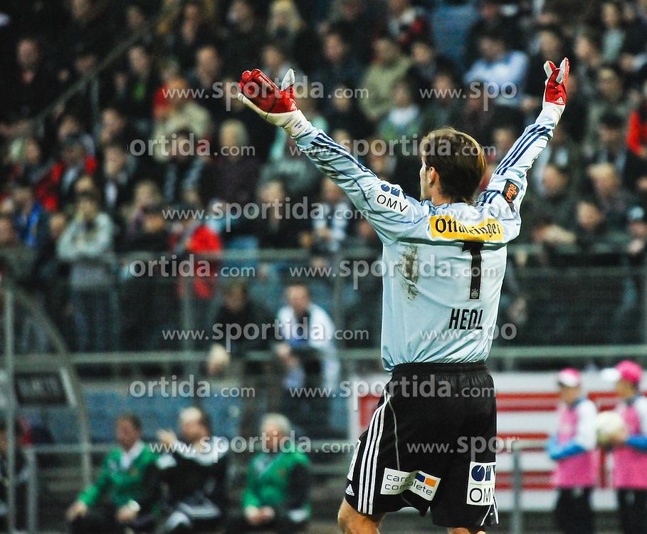 20.03.2010, UPC Arena, Graz, AUT, 1. FBL, SK Puntigamer Sturm Graz vs SK Rapid Wien, im Bild Raimund Hedl,1, SK Rapid Wien, EXPA Pictures © 2010, PhotoCredit: EXPA/ S. Zangrando / SPORTIDA PHOTO AGENCY