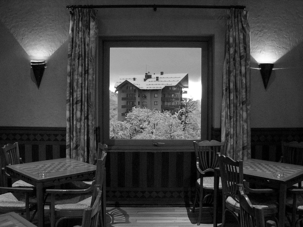 View from the Gran Hotel Termas de Chillan, Chile