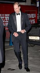 HRH Prince William, Duke Of Cambridge attends The Royal Variety Show at The London Palladium, Argyll Street, London on Thursday 13th November 2014