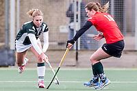 VOORBURG - Cartouche - Alphen Dames 1, Hockey, Seizoen 2015/2016,