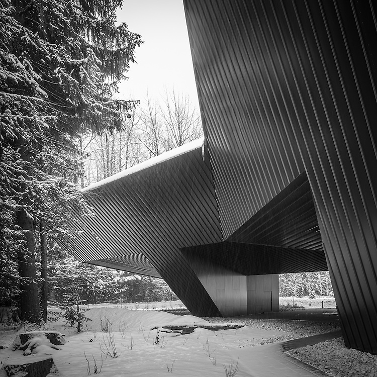 Audain Museum of Art, Whistler, British Columbia | Winter | Patkau Architects