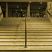 wide stairs leading up