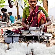 A worker inside the factory. Image © Balaji Maheshwar/Falcon Photo Agency