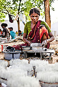 A worker inside the factory. Image © Balaji Maheshwar/Falcon Photo Agency