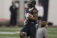 Brandon Bolen (34) during Ole Miss' spring practice at the IPF in Oxford, Miss. on Monday, March 28, 2011.