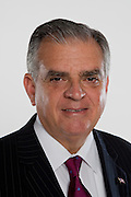 Secretary of Transportation Ray LaHood poses for a portrait in Washington, DC, September 9, 2009.