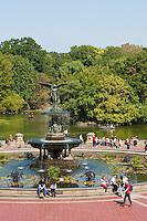 central park in New York City in October 2008