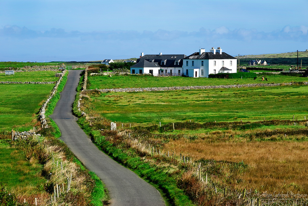 Rural Houses in Doolin, Ireland
