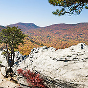 NC: Appalachia: Hanging Rock State Park