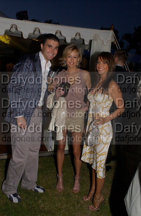 Lady Alexandra Spencer-Churchill, The  Summer party, hosted by the Serpentine Gallery and Robert Cavalli, 16 June 2004. 16 June 2004. SUPPLIED FOR ONE-TIME USE ONLY> DO NOT ARCHIVE. © Copyright Photograph by Dafydd Jones 66 Stockwell Park Rd. London SW9 0DA Tel 020 7733 0108 www.dafjones.com