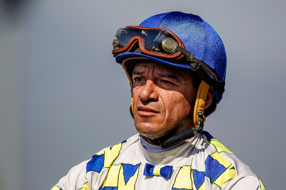 May 30 2015: Cornelio Velasquez at the Californian Stakes at Santa Anita Park in Arcadia CA. Alex Evers/ESW/CSM