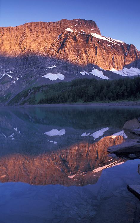 Sunrise at Floe Lake, Kootenay National Park, British Columbia, Canada