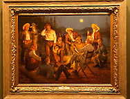 The Russell, C.M. Russell Museum Sale, Great Falls, Montana, 2011, American Storytellers by Andy Thomas, sold $65,000 .
