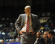 Ole Miss head coach Andy Kennedy vs. Auburn in Oxford, Miss. on Wednesday, February 24, 2010. Ole Miss won 85-75, giving Kennedy his 100th win as a head coach.