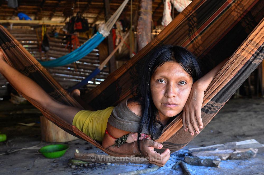 Yanomami woman.