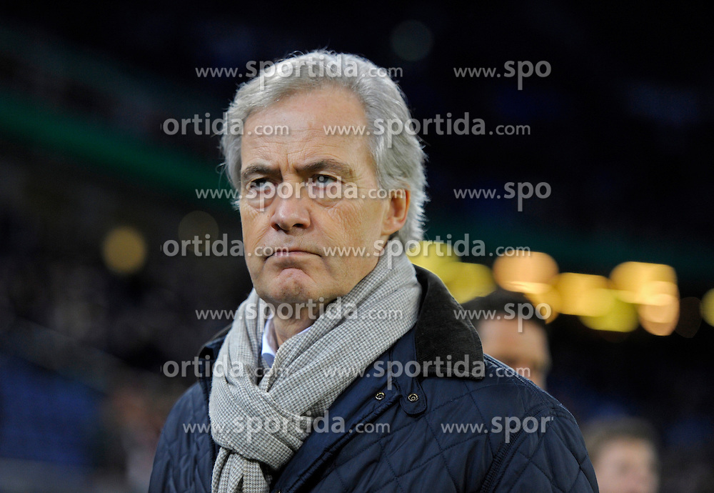 Football: Germany, DFB-Pokal, Hamburger SV - FC Bayern Muenchen, Muenchen, 12.02.2014<br /> Vorstandsvorsitzender Carl Edgar Jarchow (Hamburg)<br /> &Atilde;'&Acirc;&copy;&Atilde;'&Acirc;&nbsp;pixathlon