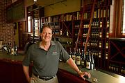 Marty Clubb, owner & managing winemaker, inside his tasting room at L'Ecole Walla Walla*, Washington*L'Ecole Walla Walla*, Washington*