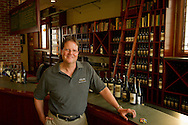 Marty Clubb, owner & managing winemaker, inside his tasting room at L'Ecole Walla Walla*, Washington*L'Ecole Walla Walla*, Washington*