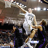 SOUTH BEND, IN - DECEMBER 21: Pat Connaughton #24 of the Notre Dame Fighting Irish shoots the ball against the Niagara Purple Eagles at Purcel Pavilion on December 21, 2012 in South Bend, Indiana. (Photo by Michael Hickey/Getty Images) *** Local Caption *** Pat Connaughton