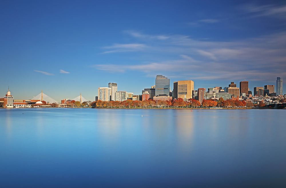 Boston skyline photography showing familiar Boston landmarks in a new light. From left to right one can see the Museum of Science, the Zakim Bridge or Bunker Hill Bridge, parts of Beacon Hill, the Massachusetts State House and the newly constructed Millennium Tower in Downtown Crossing. Boston skyline picture are available as museum quality photography prints, canvas prints, acrylic prints, wood prints or metal prints. Fine art prints may be framed and matted to the individual liking and decorating needs:<br />  <br /> http://juergen-roth.pixels.com/featured/boston-limelight-juergen-roth.html<br /> <br /> All photos are available for photography image licensing at www.RothGalleries.com. Please contact me direct with any questions or request.<br /> <br /> Good light and happy photo making!<br /> <br /> My best,<br /> <br /> Juergen<br /> Prints: http://www.rothgalleries.com<br /> Photo Blog: http://whereintheworldisjuergen.blogspot.com<br /> Instagram: https://www.instagram.com/rothgalleries<br /> Twitter: https://twitter.com/naturefineart<br /> Facebook: https://www.facebook.com/naturefineart