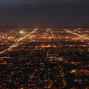 South Mountain Park-Night, Phoenix, AZ