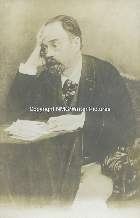 Emile Zola, French Writer<br /> <br /> Copyright NMG/Writer Pictures<br /> WORLD RIGHTS